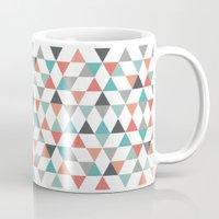 hexagon Mugs featuring Hexagon by Pavel Saksin