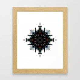 Neutral Metroplis Framed Art Print