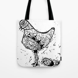 Chicken and egg Tote Bag