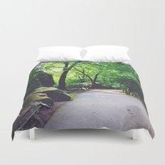 A Woodland Path Duvet Cover