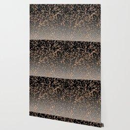 Glitter mix on onyx Wallpaper