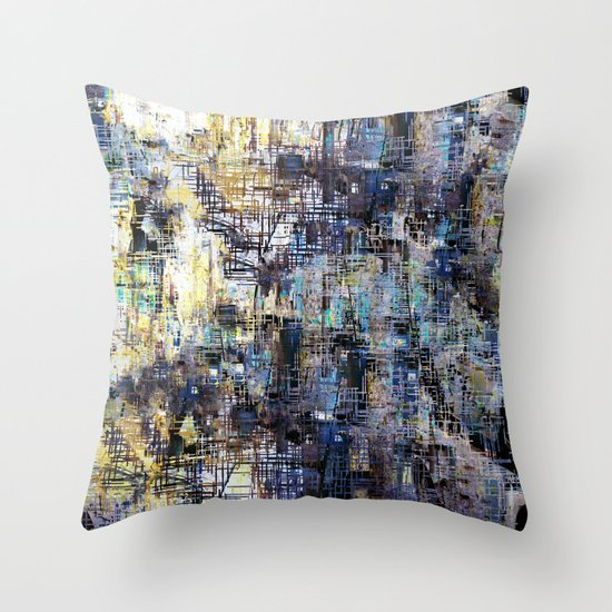Together with the reminder that one must not fear. Throw Pillow