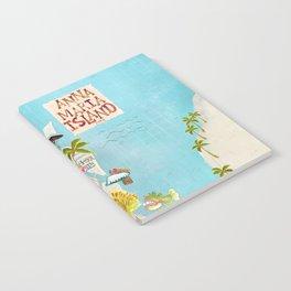 Anna Maria Island Map Notebook