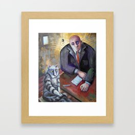 """""""Mr. Angel, Sir, Some Other Dude Done It..."""" Framed Art Print"""