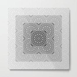Jacquard Woven Illusion Metal Print