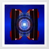 stargate Art Prints featuring STARGATE by Adam Yasmin