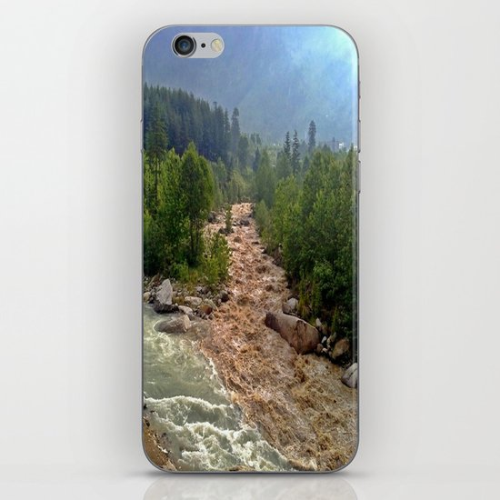 Good and Bad things come together iPhone Skin