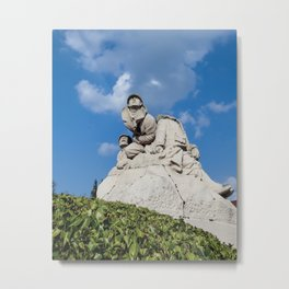monument to the dead and soldiers Metal Print