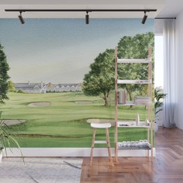 Southern Hills Golf Course 18th Hole Wall Mural