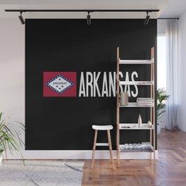 Arkansas: Arkansan Flag & Arkansas Wall Mural