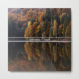 Autumn Court Metal Print