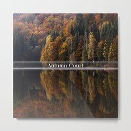 Autumn Court Metal Print