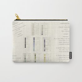 Werner's nomenclature of colour Carry-All Pouch