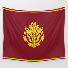 Overlord Anime Emblem: Ainz Ooal Gown (Red & Gold) Wall Tapestry