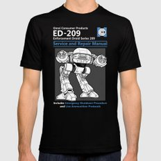 ED-209 Service and Repair Manual Mens Fitted Tee X-LARGE Black