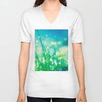 under the sea V-neck T-shirts featuring under the sea by Bonnie Jakobsen-Martin