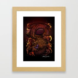 Dragon (Signature Design) Framed Art Print