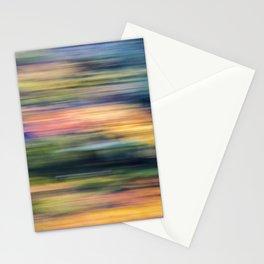 autumn blur Stationery Cards
