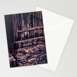 Wood and Stone Stationery Cards