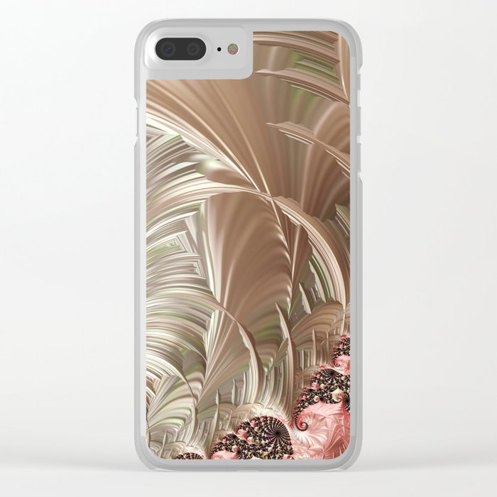 Pink Pearlesque Clear iPhone Case