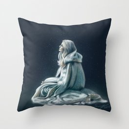 Child of the Light Throw Pillow