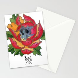 Beauty in decay Stationery Cards
