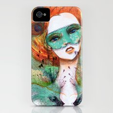 Vanity Verde iPhone (4, 4s) Slim Case