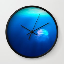 Jellyfish are beautiful Wall Clock