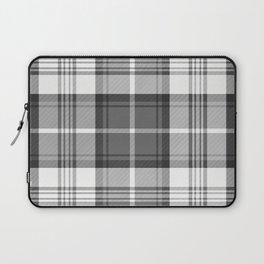 Black & White Tartan Laptop Sleeve