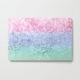 Unicorn Girls Glitter #10 #shiny #pastel #decor #art #society6 Metal Print