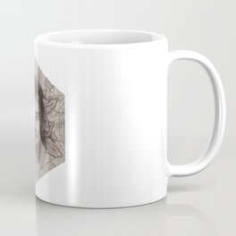 Audrey Hepburn dot work portrait Coffee Mug