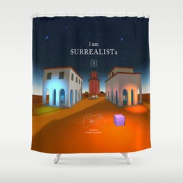 SURREALISTa Shower Curtain