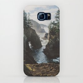 Misty Oregon Coast iPhone Case
