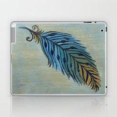 Tri-Color Feather Laptop & iPad Skin