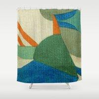 brasil Shower Curtains featuring Caprichoso (Parintins - Brasil) by Fernando Vieira