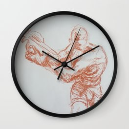 Creep Wall Clock