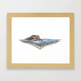 Pescadores Framed Art Print