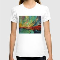 aurora T-shirts featuring Aurora by Michael Creese