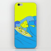 surfer iPhone & iPod Skins featuring Surfer by melanie johnsson