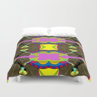 dancer Duvet Covers featuring Dancer by Joe Pansa