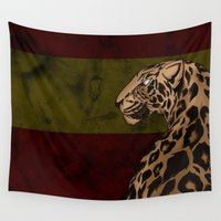 fierce Wall Tapestries featuring Fierce  by N.Cookz