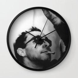 Jean-Luc Godard Wall Clock