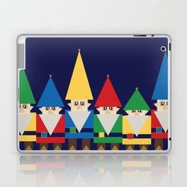 Elves on Blue Laptop & iPad Skin