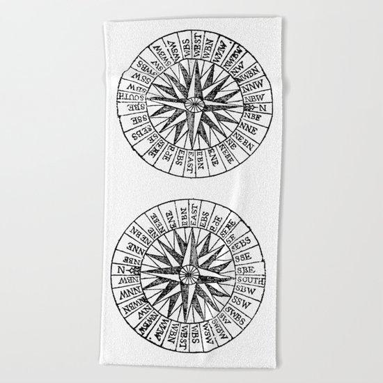 Compass 2 Beach Towel