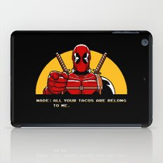 All Your Tacos Are Belong To Me iPad Case