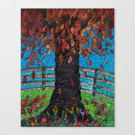 Natures Tumble Canvas Print