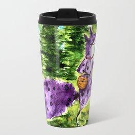 Blueberry Fox Travel Mug