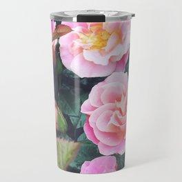 Sorbet Roses Travel Mug