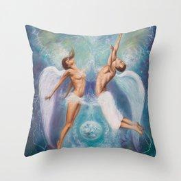 Heavenly Ties Throw Pillow