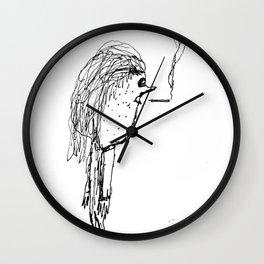Milktoast Wall Clock
